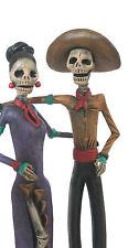 Day of the Dead Catrina Dancers/Baile Esqueleto Calavera/Mexican Folk Art Med