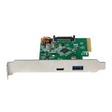 Logilink PC0081 USB 3.1 PCI-e 1-fach Schnittstellenkarte 1x USB A + 1x USB C