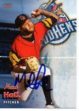 Matt Hall 2019 Toledo Mud Hens Autographed Signed Card