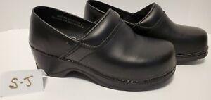 Women's Size 6 Modellista PROFESSIONAL STRENGTH Black SLIP ON SHOES 1115B