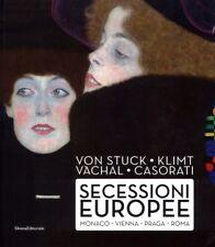 Von Stuck Klimt Váchal Casorati Secessioni Europee Monaco Vienna Praga Roma 2017