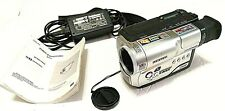 Samsung SCW62 Hi-8mm Video Camcorder  w/ Charger, Tape, And Manual