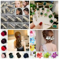 Lot Styles Fashion Girl Pearl Hair Clip Hairband Comb Bobby Pin Barrette Hairpin