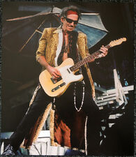 THE ROLLING STONES POSTER PAGE KEITH RICHARDS . Y96