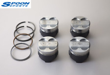 GENUINE SPOON SPORTS PISTONS AND RINGS SET INTEGRA DC2 DB8 B18C OVER SIZE 0.25
