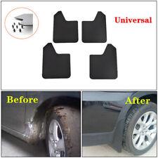 4* Car Front+Rear Mud Flaps Mudguards Splash Guards PP+TPO Plastic For SUV Van