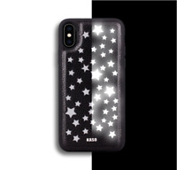 Luxury Reflective Flash Stars Phone Case Cover For Apple iPhone Series