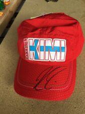 Ferrari Kimi Raikkonen Signed Hat Rare