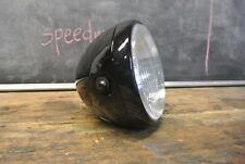 "8"" motorcycle headlight H4 Halogen Black MotorBike Honda Truimph Yamaha Ducati"
