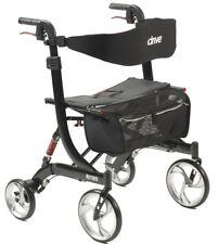 Drive Medical HD Nitro Euro Rollator Folding Walker Adult 4 Wheels 10266HD ~NEW~
