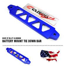 Universal 19cm Aluminum Billet Car Battery Tie Down Holder Bracket Brace Bar USA