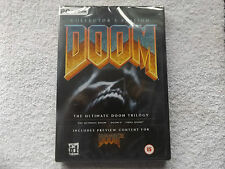 DOOM COLLECTOR'S EDITION PC NEW SEALED FPS ( ultimate doom doom II final doom )
