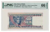 ITALY banknote 50.000 Lire 1980 PMG MS 66 EPQ Gem Uncirculated