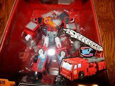 Optimus Prime Transformers Robot to Vehicle Titanium Series Year 2006
