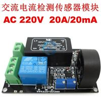 (Working AC) 20A AC Current Sensor Module Detection Module Switch Output