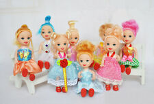 Random Pick 1pc 3 inch Cute Little Princess Figures Baby Girl Playset Doll Toy3#