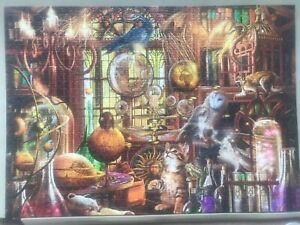 ravensburger 1000 piece jigsaw puzzles used 'Merlin's Laboratory'