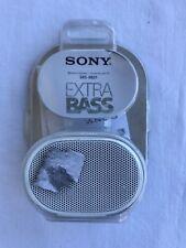 Sony SRS-XB01 Extra Bass Portable Bluetooth Speaker - White *Open Box