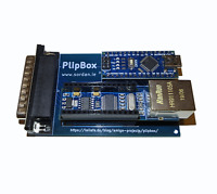 Neu,Plipbox Ethernet Aluminiumtraverse Port Internet Adapter Amiga 500 600 1200