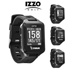 Izzo Swami Golf GPS Watch / Sports Pre-Loaded 38,000 Courses, No Fees, NEW 2020