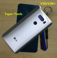 OEM Glass Battery Back Cover Housing Door  For LG V30 V300 H930 H931 H932 Silver