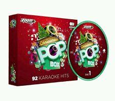 Karaoke cdg zoom noël pop box set 92 tracks 4 disques
