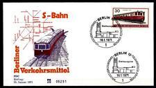 S-Bahn in Berlin(1932). FDC. W.Berlin 1971