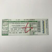 Journey An Evening With PNC Banks Arts Center Concert Ticket Stub 2005