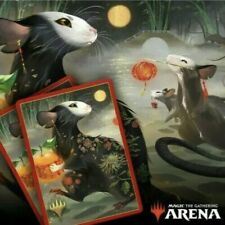 Magic The Gathering Arena Secret Lair Year Of The Rat Sleeve Code