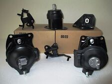 FITS: 2003-2007 HONDA ACCORD (2.4L, AT) -- SET OF 6 ENGINE & TRANSMISSION MOUNTS
