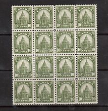 Canada #173 NH Mint Block Of 16