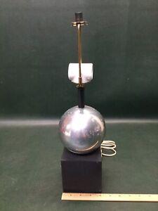 Vintage MCM Mutual Sunset Lamp Mfg Co. Desk Lamp