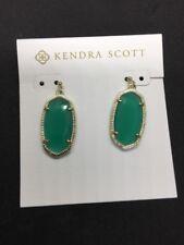 Kendra Scott Green Dani Earrings NWT