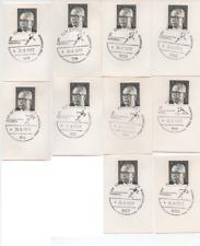"""Heinemann 5 Pfennig Sonderstempel """"Olympische Spiele 1972""""- 1 Beleg pro Auktion"""