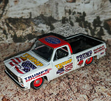 M2 MACHINES 1973 CHEVROLET CHEYENNE 10 CUSTOM TRUMP 2020 AND CASE