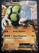 Carte Pokemon GROLEM 46/83 Ultra Rare EX XY GENERATIONS FR NEUF