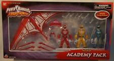 Power Rangers Ninja Storm Wind Academy Pack With Red,Yellow,Blue & Glider (MISB)