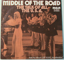 """[F245] 7""""SINGLES MIDDLE OF THE ROAD THE TALK OF ALL THE U.S.A.-SAMSON & DELILAH"""