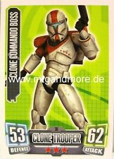Clone Commando Boss #036 - Force Attax Serie 2
