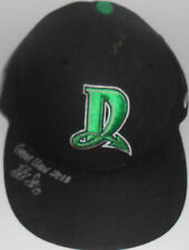 Robert Stephenson Cincinnati Reds SIGNED 2013 Game Used Hat Black 1