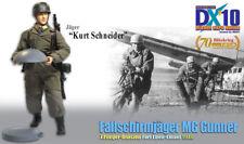 "Dragon 1/6 Scale 12"" WWII German Fallschirmjager MG Gunner Kurt Schneider 70792"