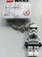 GENUINE LEGO STAR WARS STORMTROOPER MINIFIGURE KEYRING