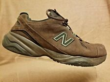 New Balance 608v4 Men Brown Leather Sport Athletic Running Training Shoes Sz 14