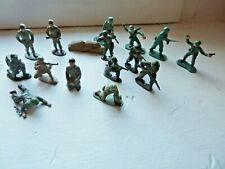 LOT 15 SOLDATS ARMEE MODERNE WWII DIVERS MARQUES 1/32