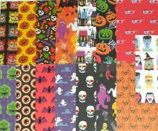 15pcs Halloween Double Sided CARDSTOCK, Monsters, skull, skeleton, eyeball Bat