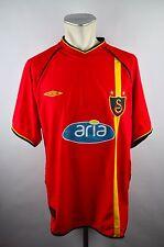 Galatasaray Trikot 2002-03 Gr. XL Umbro aria rot Jersey Away Türkei Süper