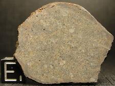 New listing Nwa 8296 Official Classified Meteorite - L5-W2 - G497-0009 - 10.14g Coa - Slice