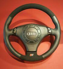 Audi A3 A4 B5 B6 A6 C5 A8 TT S-Line. retrimmed ALCANTARA + cuir