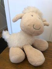 MOTHERCARE Cream Lamb Sheep Teddy Comforter Plush