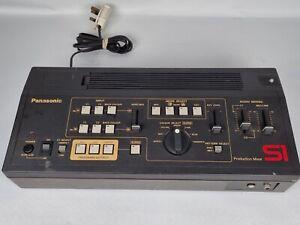 Panasonic Production Mixer WJ-S1 Vintage Audio Video Mixing